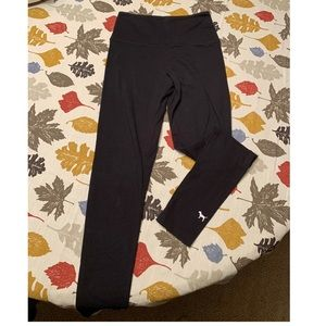 PINK brand black yoga leggings size small